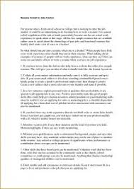 Good Resumes For Jobs by Examples Of Resumes Sample Cv Chief Accountant Example A Resume
