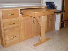 home design good looking pull out table cabinet desk with 3 home