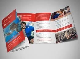 gym brochure templates 01 fitness gym bi fold brochure template