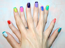 nail design tips home french manicure two color designs google search rockin u0027 nails