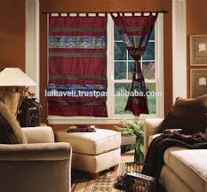 list manufacturers of silk valance and curtains buy silk valance