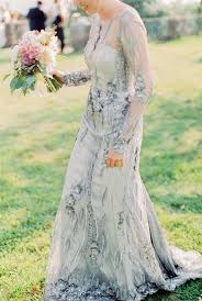 silver wedding dresses picture of blue silver wedding dress with intricate embellishments