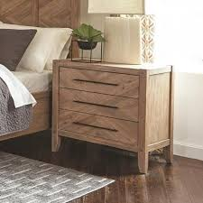 nightstand l with usb port scott living auburn nightstand with chevron inlay design and usb