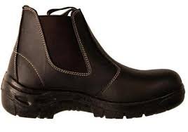 yakka s boots yakka womens black occupational gem safety steel toe
