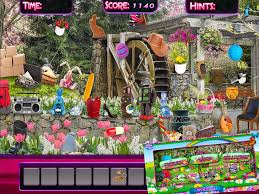 Hidden Objects Spring Gardens Puzzle Object Game Android Apps