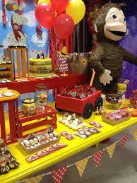 curious george party 30 best curious george birthday party ideas images on