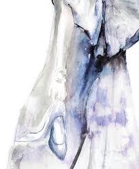 oscar de la renta fashion illustration leona beth pearson u0027s
