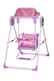 Pink Swinging Baby Chair Bertoni Lorelli Folding Indoor U0026 Outdoor Baby Swing Pink