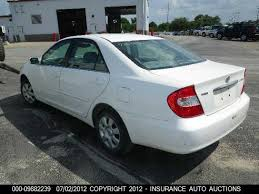 02 toyota camry xle 2002 white toyota camry le xle se