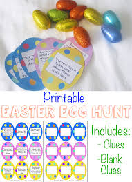 easter scavenger hunt printable easter egg hunt ideas clues fun with mama