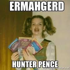 Hunter Pence Memes - hunter pence ermahgerd meme generator