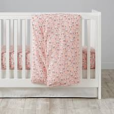 Blush Crib Bedding by New At Nod Project Nursery