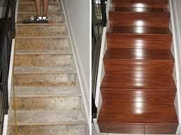 Installing Laminate Flooring On Stairs Gorgeous Best Flooring For Stairs Installing Laminate Flooring On