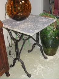 antique marble bistro table antique side tables small tables