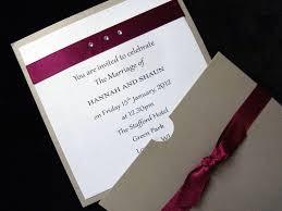 Wedding Invitation Folded Card Envelope Pocket Fold Cards Seranders Studio