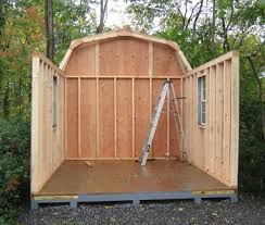 How To Build A Simple Wood Storage Shed by Shed Kits Wood Shed Kits In Va Wv Alan U0027s Factory Outlet