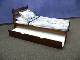 Twin Bed Room Solid Wood Twin Bed For A Natural Room