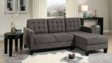 claire leather reversible sectional and ottoman sectional with recliners at both ends mogams