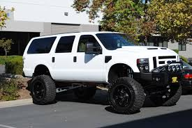 Ford Excursion New Ford Excursion On 44 U0027s W Modified Cut Out Fender Flares Ford
