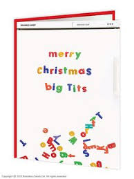 merry fucking rude christmas card funny rude