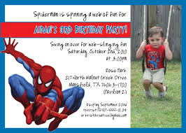 free spiderman photo invitation u2013 orderecigsjuice info