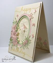 yorkiemom u0027s creative corner a special birthday card for a very
