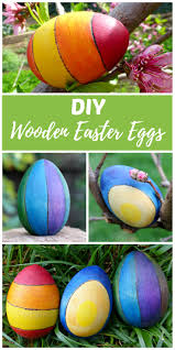 Easter Egs by Diy Wooden Easter Eggs Craft Idea Rhythms Of Play