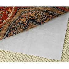 Area Rug Pad Safavieh Carpet To Carpet Grid Rug Pad Walmart
