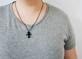 wear necklace images Necklace black ankh ubuntu wear jpg