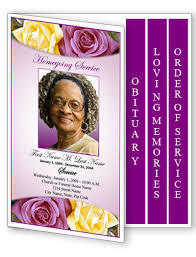 Templates For Funeral Program Obituary Templates Archives Funeral Programs Blog