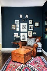 Armchair Blue Design Ideas This Is How To Decorate With Blue Walls Blue Walls Blue