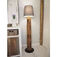 rustic wood lamps
