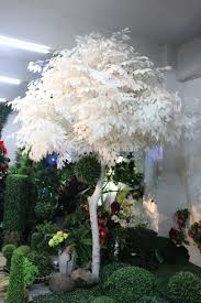 high quantity white palm tree wedding decoration wedding table