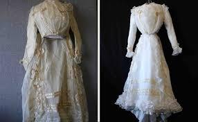 wedding dress restoration treasured garment restoration by st croix cleaners dress