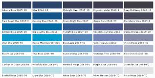 wall paint color chart ideas color place interior semi gloss