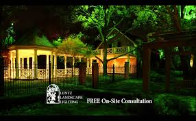 Lentz Landscape Lighting Lentz Landscape Lighting Commercial