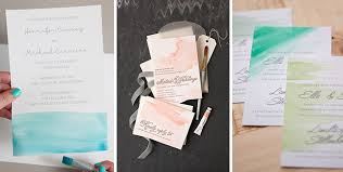 Do It Yourself Wedding Invitations 10 Different Ways To Add A Diy Wow Factor To Your Wedding