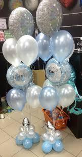 teddy bears inside balloons baby shower balloon ideas from prasdnikov baby shower balloon
