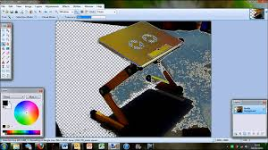 how to remove the background in paint net youtube