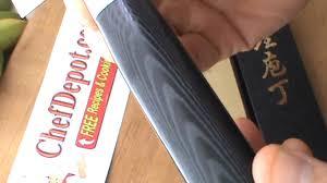 japanese white steel knives youtube