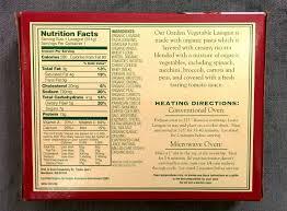 trader joe u0027s nutrition labels october 2014