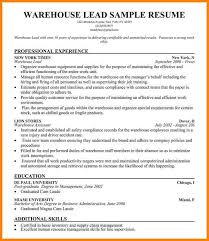 Sample Warehouse Associate Resume by 14 Warehouse Worker Cover Letter Foot Volley Mania