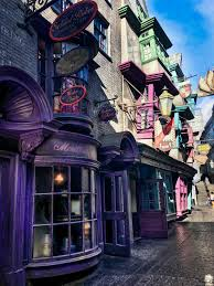 Harry Potter Adventure Map The Ultimate Guide To The Wizarding World Of Harry Potter Diagon