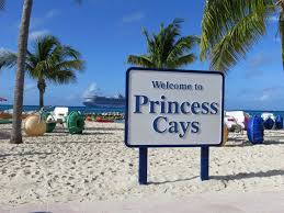 a day in paradise visiting princess cays bahamas on a caribbean