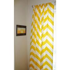 Pink Chevron Curtains Yellow Chevron Curtains Interior Design