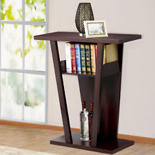 Bookshelf End Table Wood End Tables Ebay
