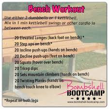 fit for fall bench workout u2013 bombshell bootcamp