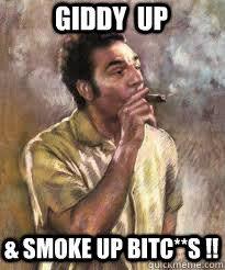 Kramer Meme - giddy up cowboy meme up best of the funny meme