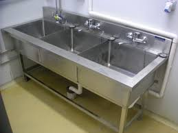 three compartment sink faucet decorate 3 compartment sink the home redesign