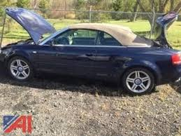 audi a4 2007 convertible auctions international auction seneca county da vehicle 12662
